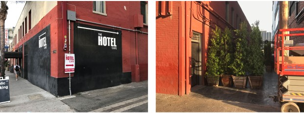 Hotel Cafe Collage
