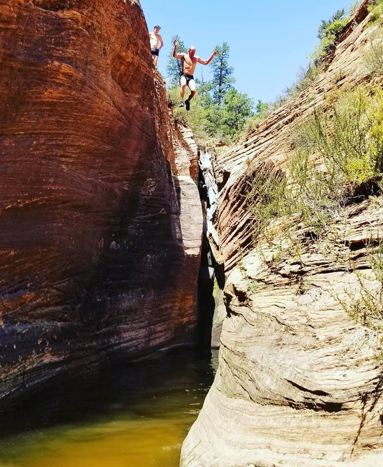 Sam Takes a Leap